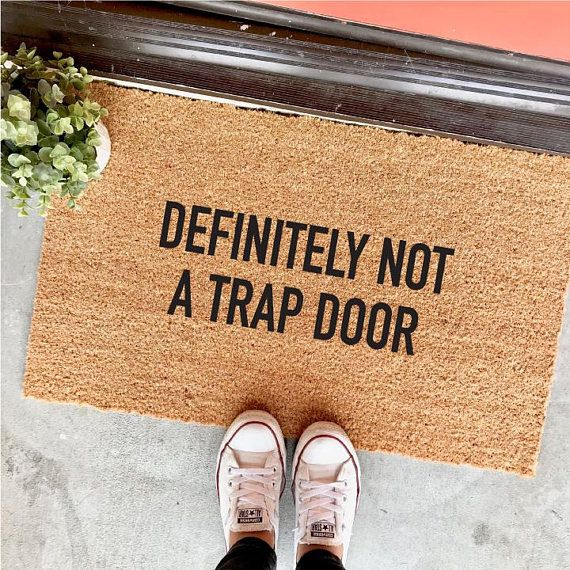 25 Funny Doormats Your Guests Will Love