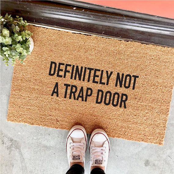 1 Trap Door Doormat