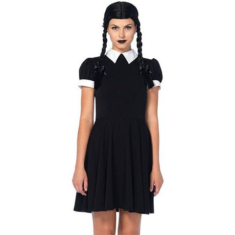 70eb998a5c 14 Best Wednesday Addams Costume Ideas for 2018 - Wednesday Addams ...