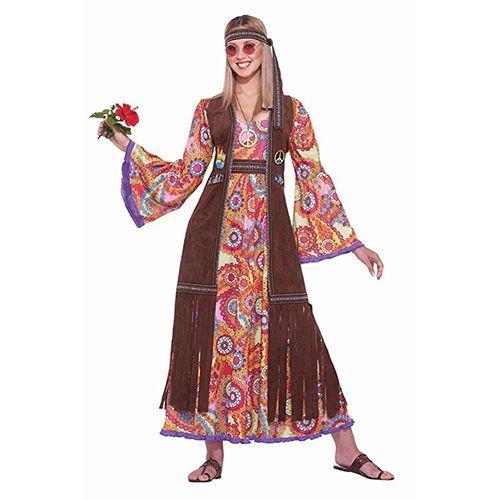 Forum Novelties Hippie Love Child Adult Costume  sc 1 st  BestProducts.com & 28 Best Hippie Costume Ideas for 2018 - Cool Hippie Halloween ...