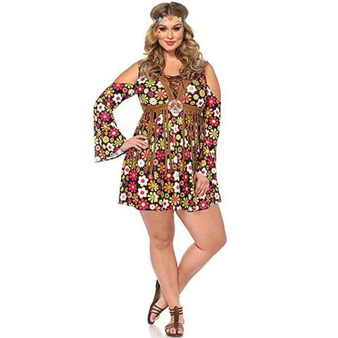 9faf69b8ef6 28 Best Hippie Costume Ideas for 2018 - Cool Hippie Halloween Costumes