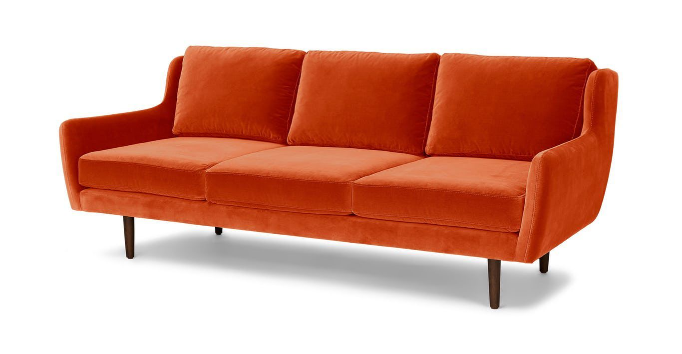 6 Matrix Sofa In Persimmon