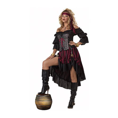 Spirit Halloween. Wench Pirate Costume  sc 1 st  BestProducts.com & 12 Best Pirate Costumes for Kids u0026 Adults in 2018 - Pirate Halloween ...