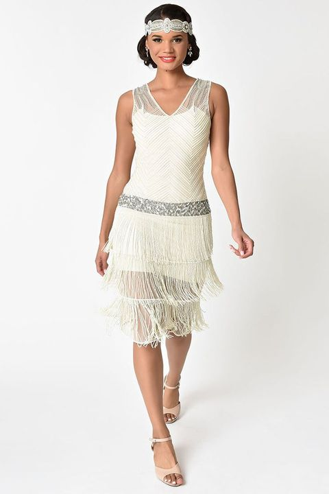 aefe4fbe335 13 Best Flapper Costumes for Halloween 2018 - Flapper Girl Costumes ...