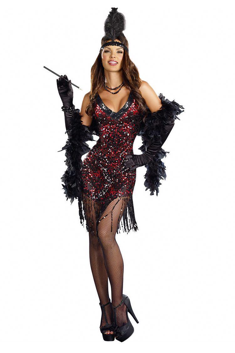 1e88ac188cf 13 Best Flapper Costumes for Halloween 2018 - Flapper Girl Costumes    Dresses