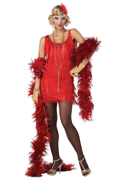 12816fe5b08 13 Best Flapper Costumes for Halloween 2018 - Flapper Girl Costumes ...