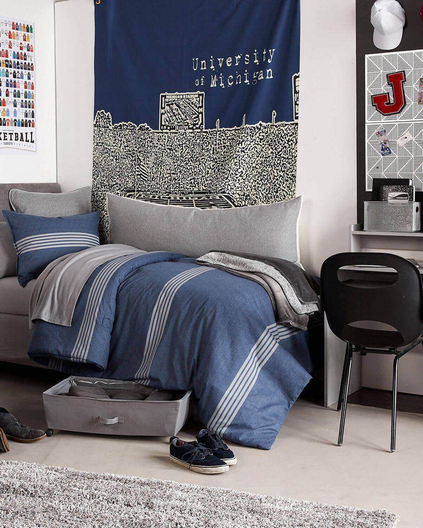 Bedroom Ideas Guys 11 dorm room ideas for guys - cool dorm room decor guys will love