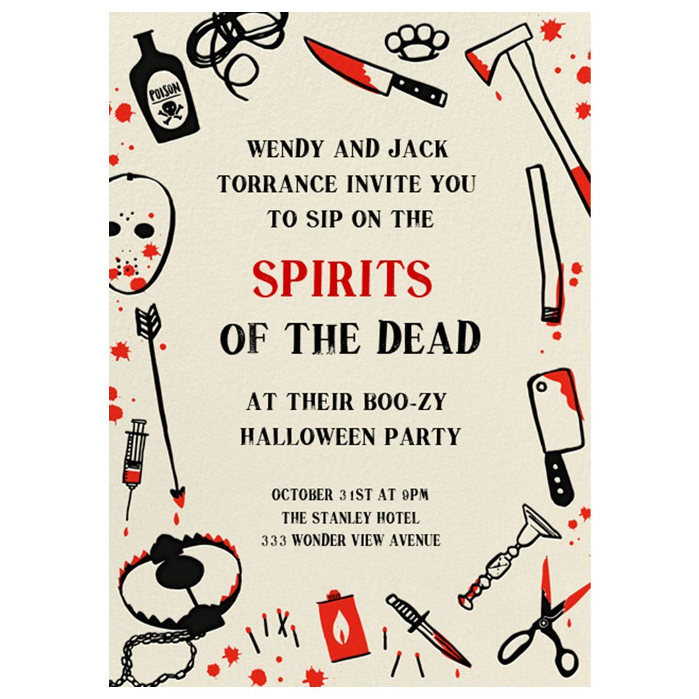 13 Best Halloween Invitations for 2018 - Fun Halloween Party Invites