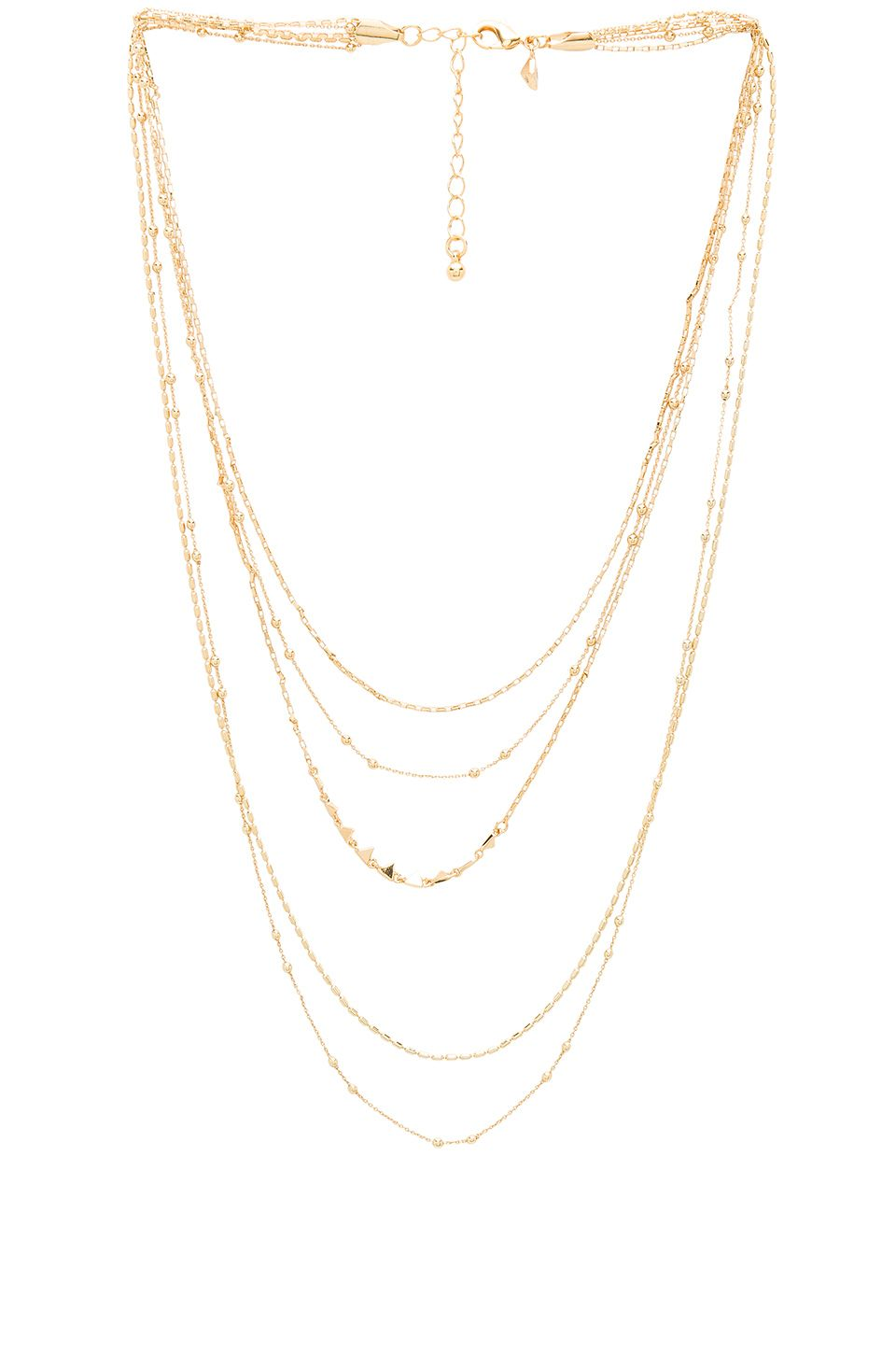 6af3d2ac717 Layered Necklaces Trend - How To Wear Layered Gold Coin Necklaces