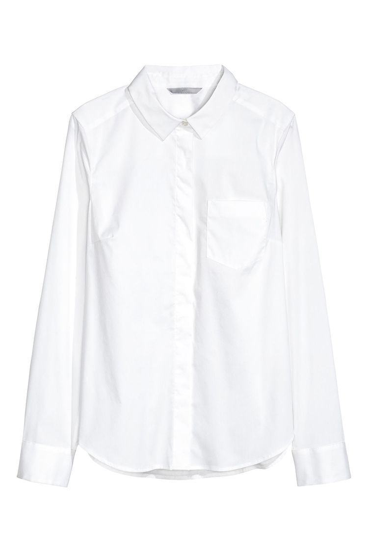 395638f8faa 8 Best White Button-Down Shirts for Women in 2018