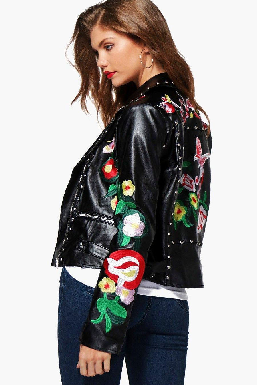 9a6369661c75 10 Cute Leather Jacket Outfit Ideas - How to Wear a Leather Jacket