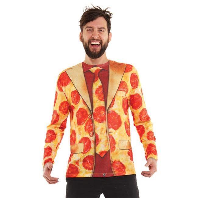 Jet.com Sc 1 St Delish.com  sc 1 st  Germanpascual.Com & Halloween Pizza Costume u0026 DIY Pizza Slice And Delivery Boy Costumes ...