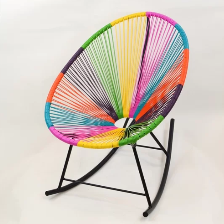 2 Rainbow Acapulco Outdoor Rocking Chair
