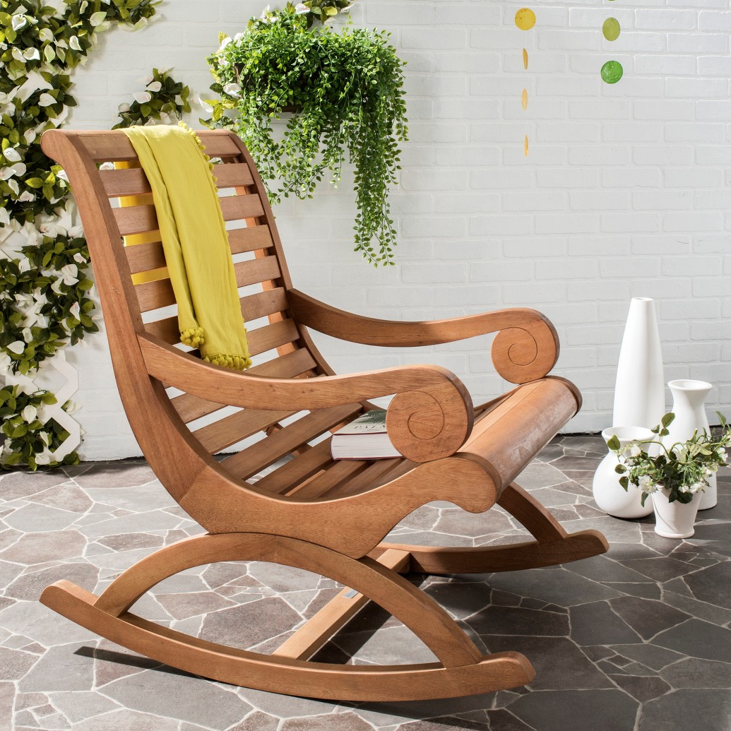 Miraculous Sonora Outdoor Rocking Chair Short Links Chair Design For Home Short Linksinfo
