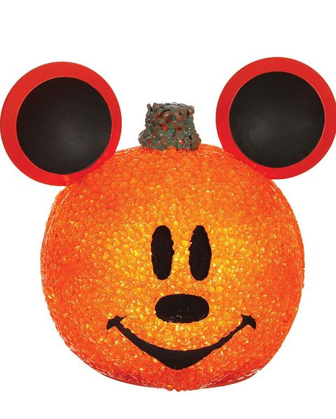 3 mickey mouse sparkling pumpkin