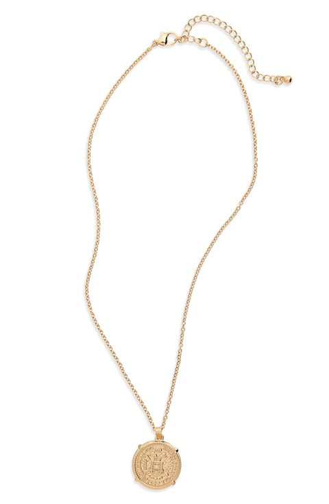 Coin necklaces for women to shop best gold coin necklaces pendant necklace aloadofball Choice Image