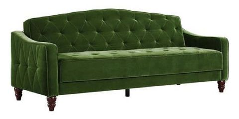 2 Novogratz Vintage Tufted Sofa Sleeper