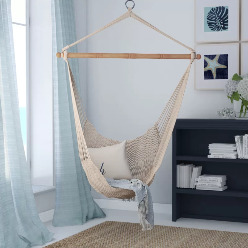 3 Cotton Rope Hammock Chair