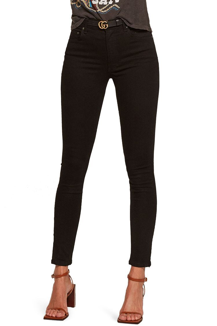 441461d08a73 14 Best Black Skinny Jeans for Fall 2018 - Ripped & High-Waisted Black Jeans