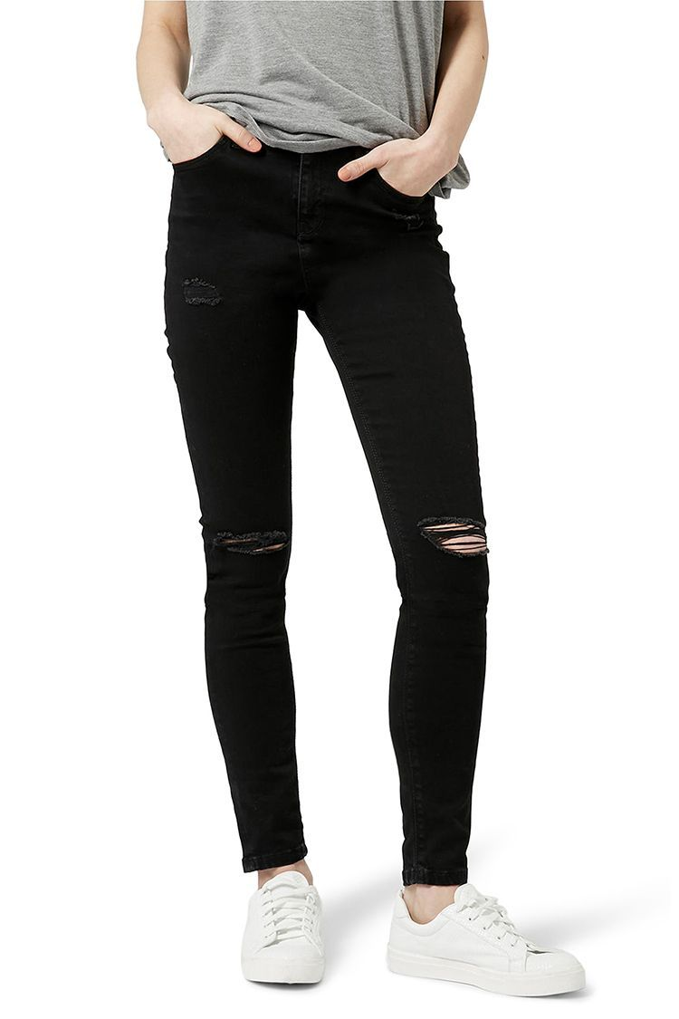 c1b14f1d28d 14 Best Black Skinny Jeans for Fall 2018 - Ripped   High-Waisted Black Jeans
