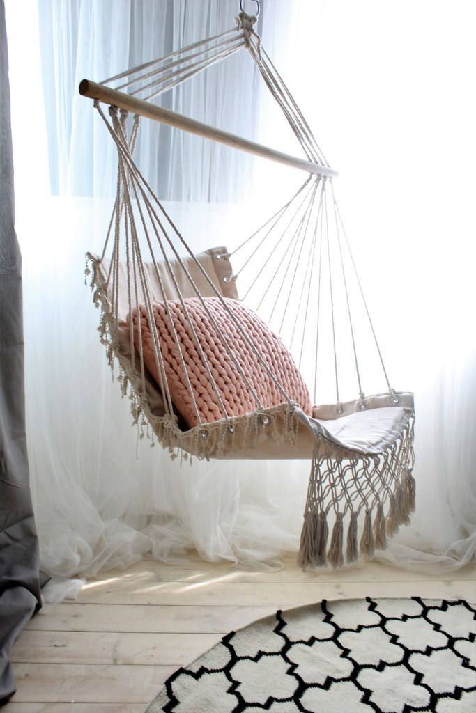 14 Macramé Hammock Chair