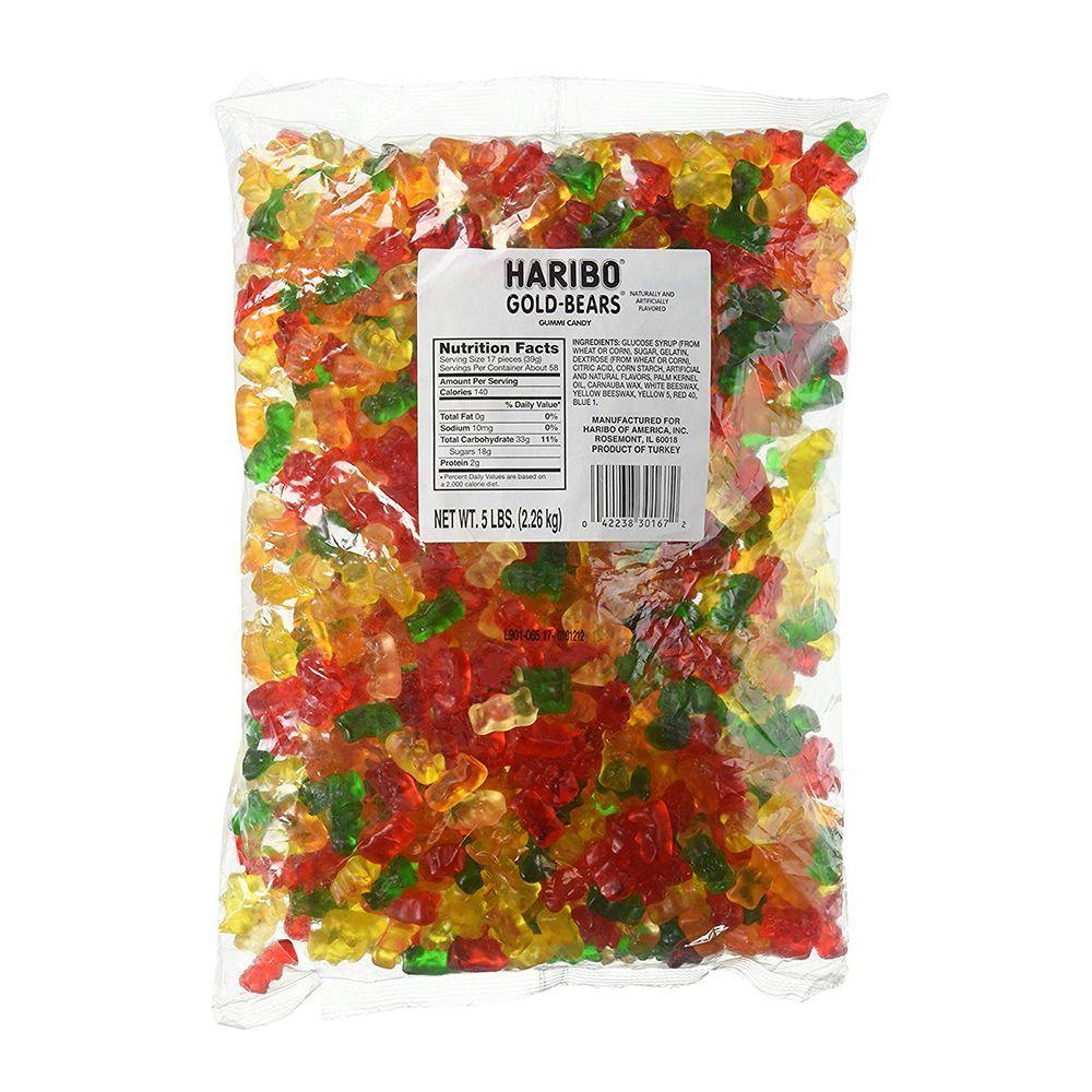 Haribo Original Gold-Bears Gummi Candy