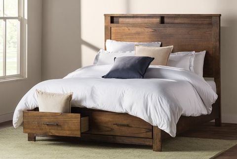10 Best Storage Beds With Drawers And, Wayfair Queen Platform Bed With Storage