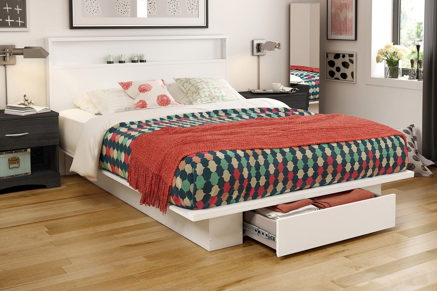 Picture of: 10 Best Storage Beds With Drawers And Cubbies Bedroom Storage Ideas