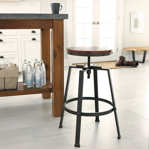 Awe Inspiring 10 Farmhouse Bar Stools For Your Kitchen Style Your Creativecarmelina Interior Chair Design Creativecarmelinacom