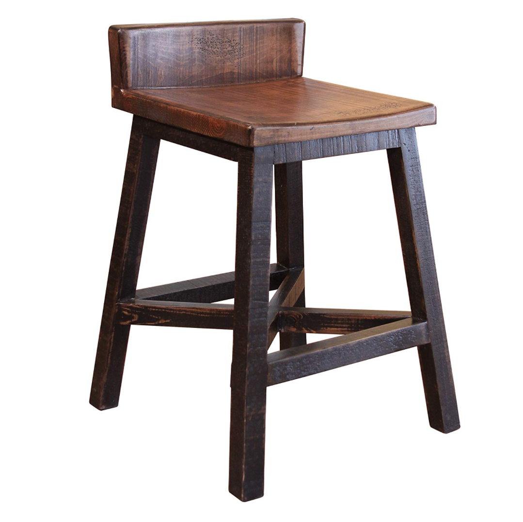 Pleasant Solid Wood Bar Stool Creativecarmelina Interior Chair Design Creativecarmelinacom