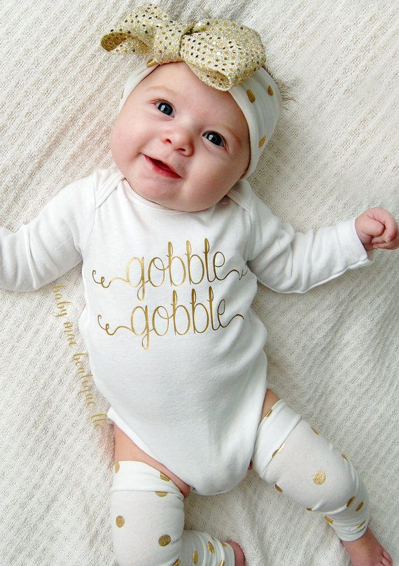 d5a55f174e4e 20 Baby Thanksgiving Outfits - Cute Girl & Boy Infant Clothes for 1st  Thanksgiving