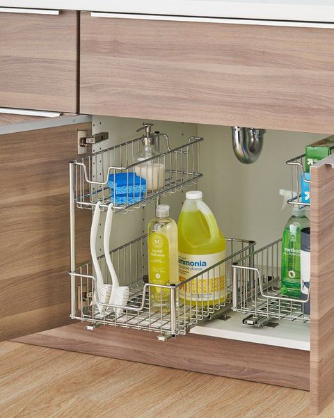 Super 13 Under Sink Organizers For Bathrooms And Kitchens Easy Home Interior And Landscaping Oversignezvosmurscom