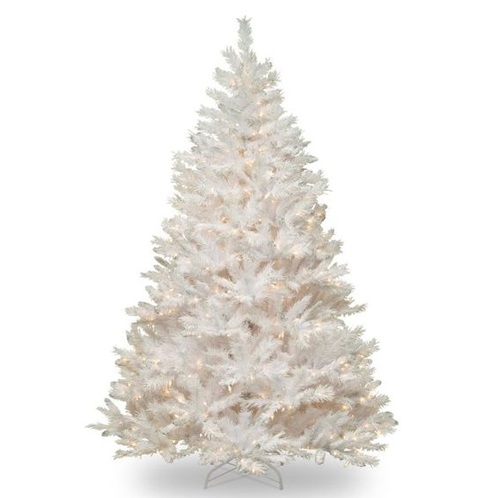 8 Beautiful White Christmas Trees for 2018 - Pre Lit White Christmas ...