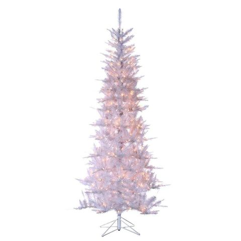 sterling 75 foot pre lit tiffany white christmas tree