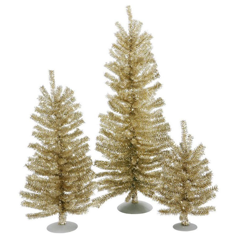 7 best gold christmas trees for 2018 gold artificial christmas trees - Gold Christmas