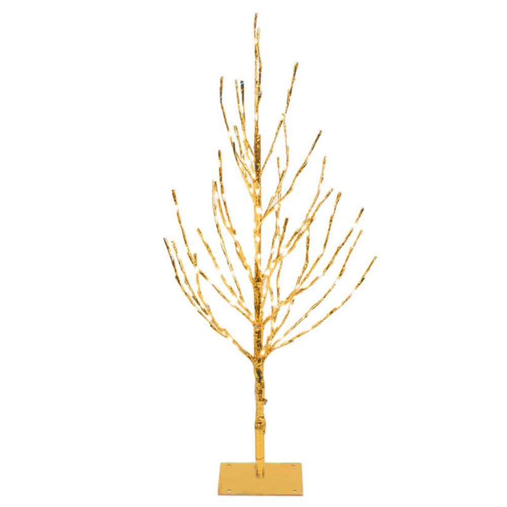 Vickerman Pre Lit 4 Foot Gold Christmas Tree