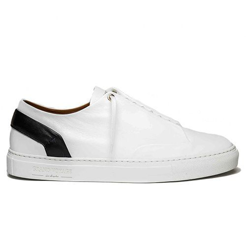 9be0626f6 The Grand Voyage White Leather Sneaker for Men