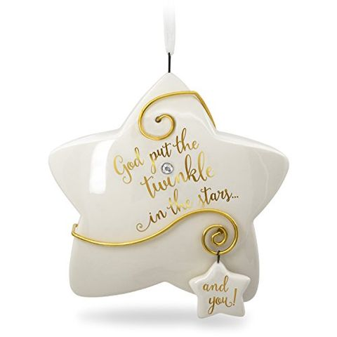 hallmark keepsake baby christmas ornament 2018