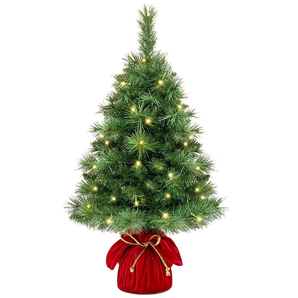Best Choice Products 26 Inch Tabletop Fir Christmas Tree