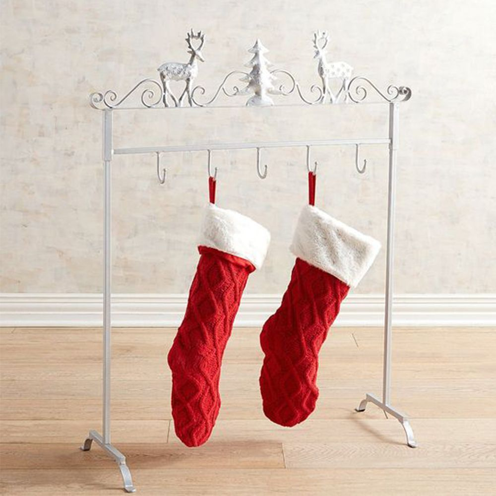 14 best christmas stocking hangers for 2018 christmas stocking holders for your mantel