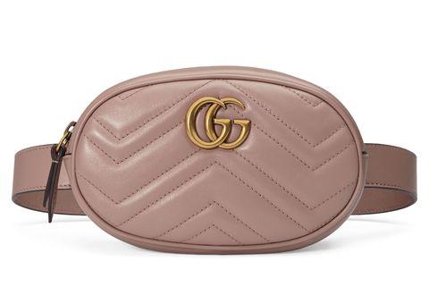 Gucci Gg Marmont 2 0 Matelassé Leather Belt Bag