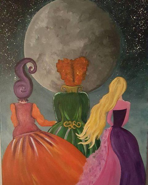 10 Cool Halloween Paintings - Spooky Halloween Art Prints to Buy in 2018