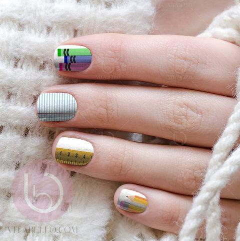 7 Fun Back To School Nails Cute Girls Nail Designs For School