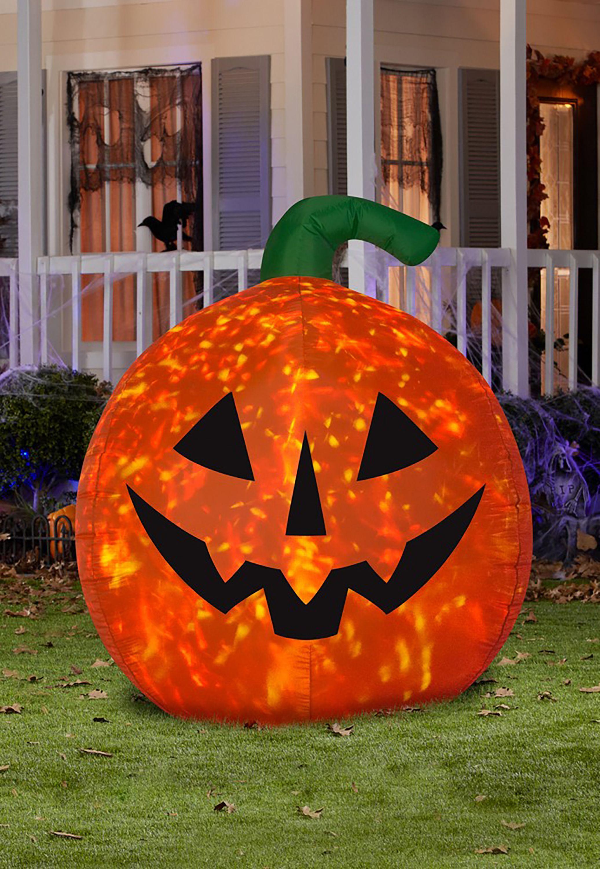 Halloween LED Scary Pumpkin Kaleidoscope