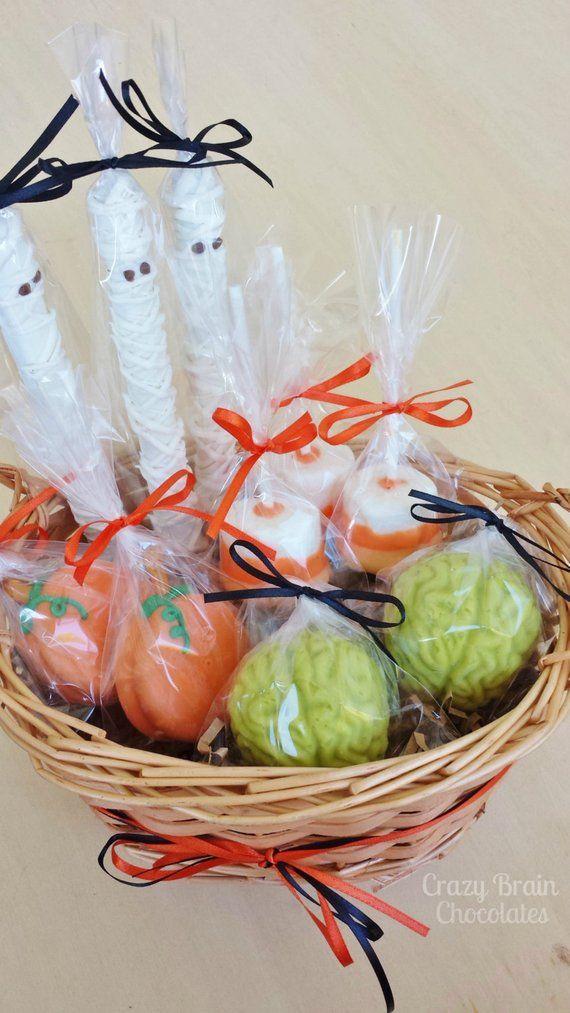 Halloween Treats Gift Basket