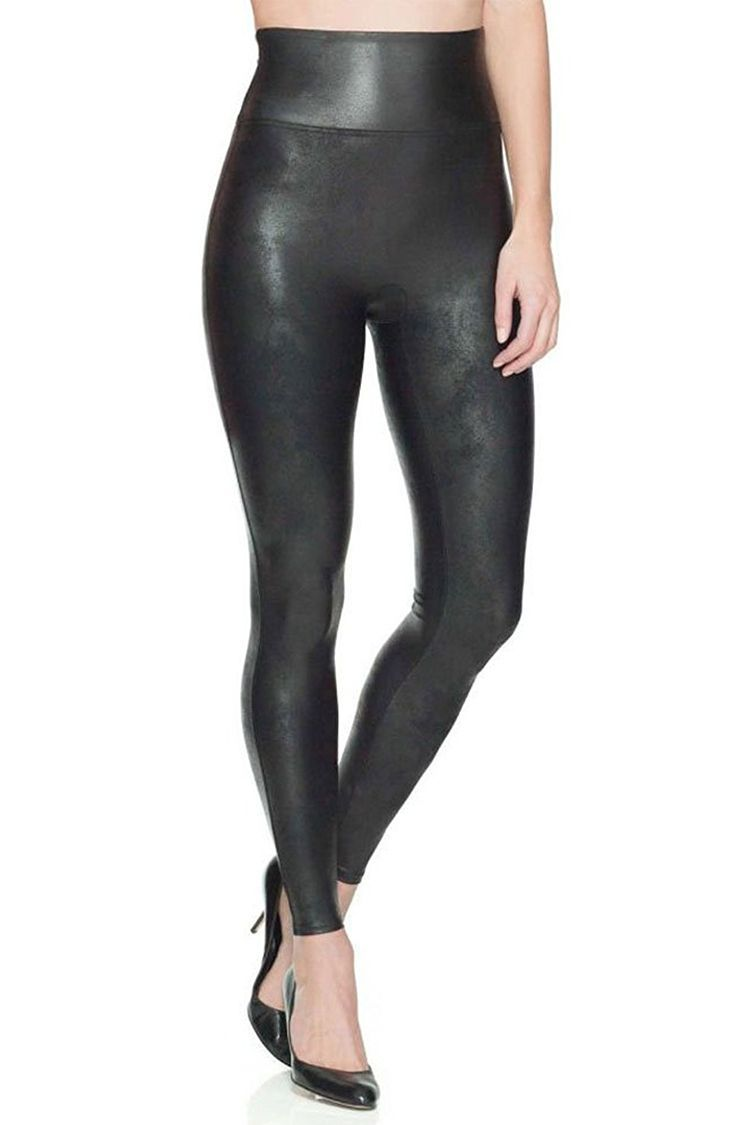 big discount good looking highly praised Spanx Faux-Leather Leggings