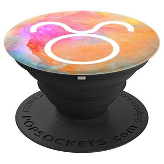 Taurus Astrology Galaxy PopSocket