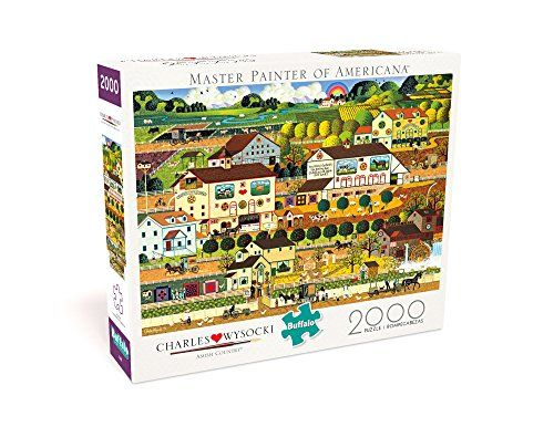 Amish Country by Charles Wysocki 2000-Piece Puzzle