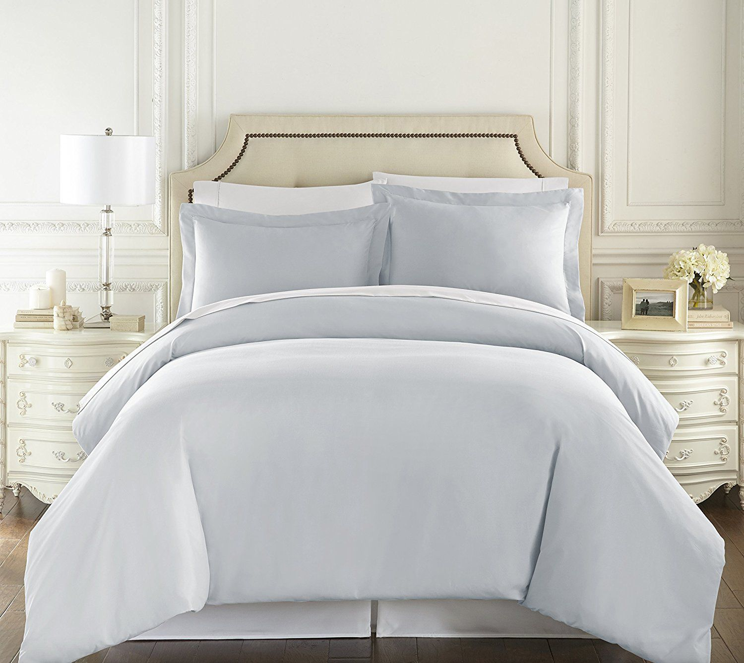 Hc Collection Hotel Luxury Duvet Cover Set Queen Size