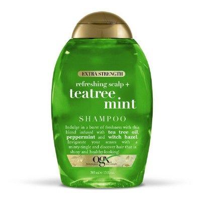 Extra Strength Refreshing Scalp + Tea Tree Mint Shampoo